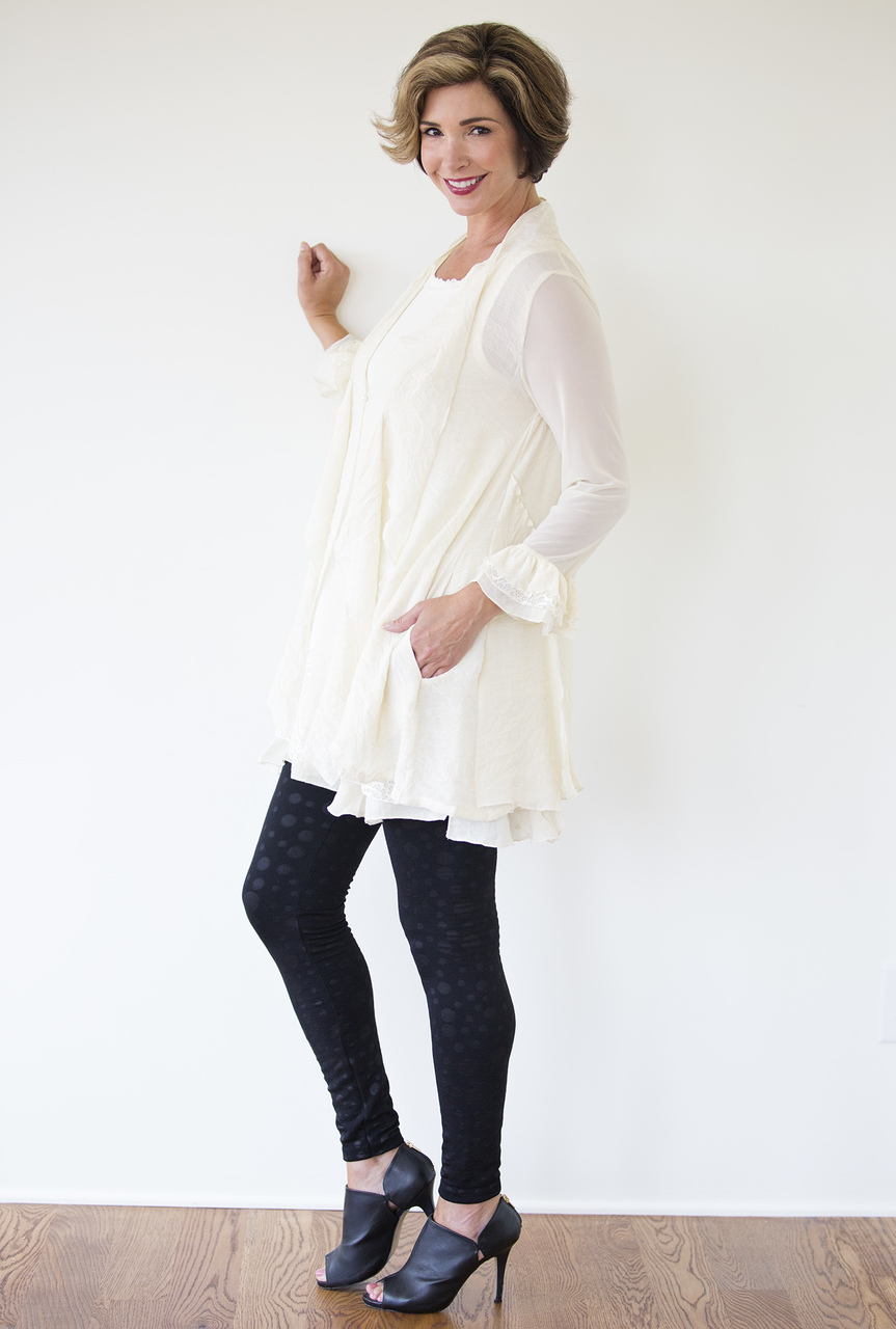 Sofia Dress - Winter White