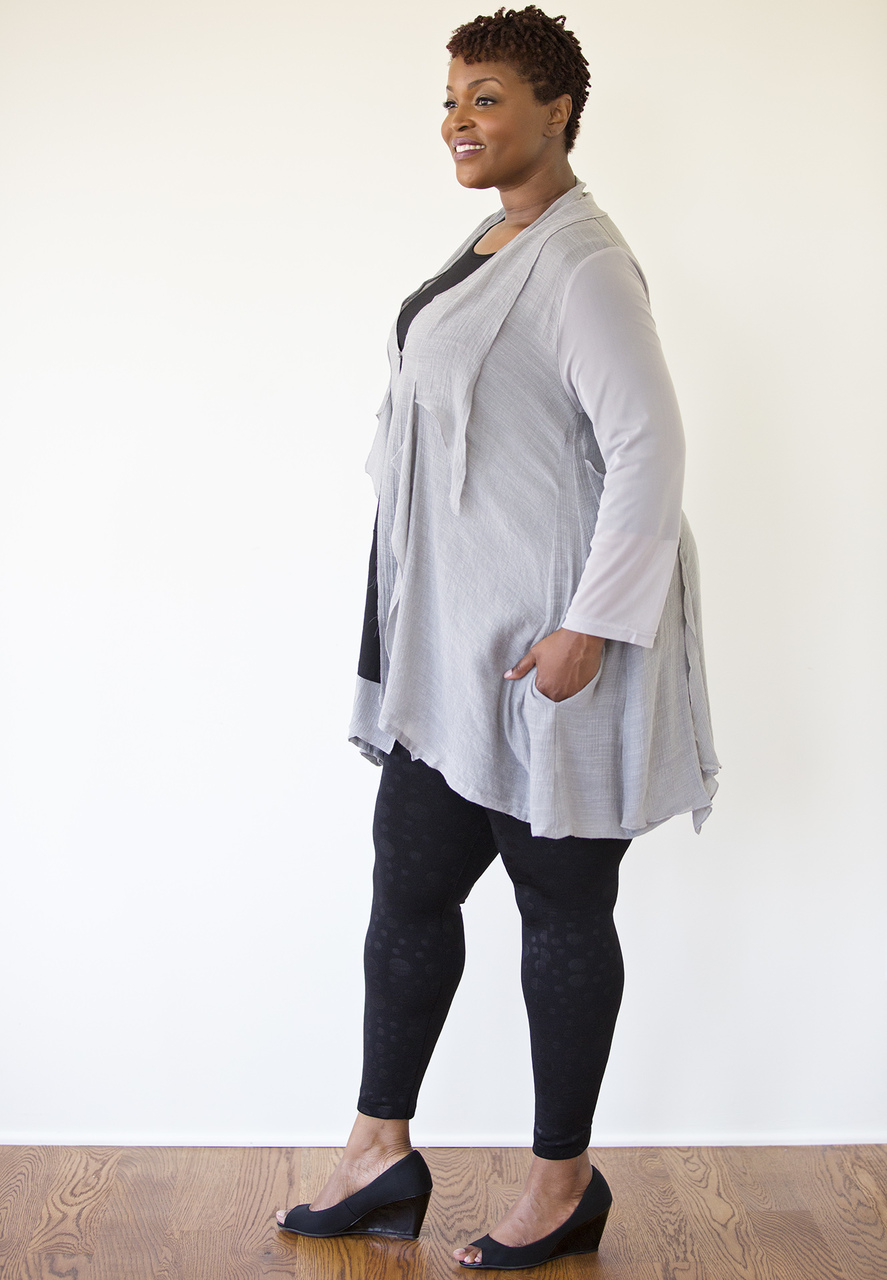 Sofia Cardigan - Gray