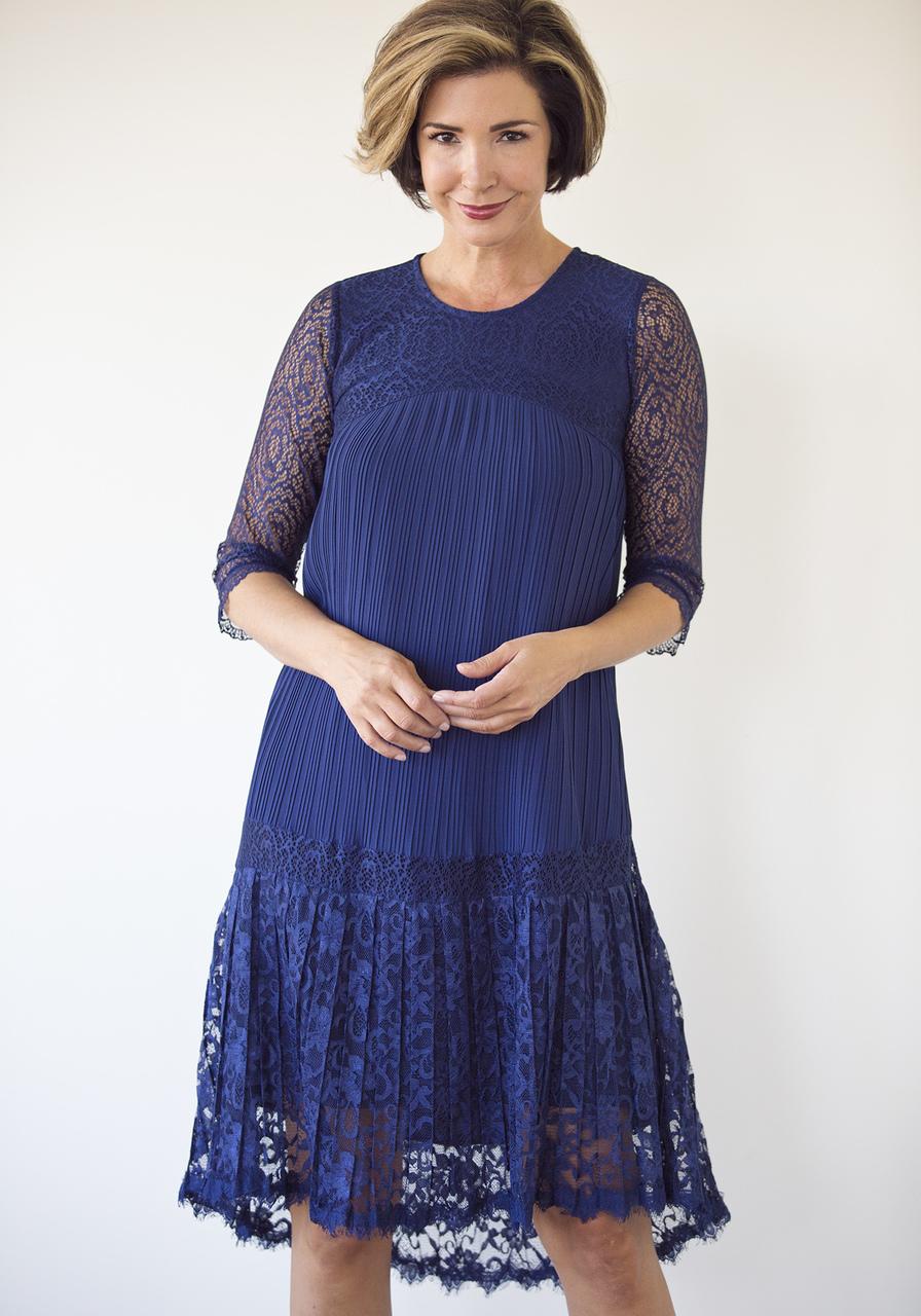 Paloma Dress - Navy