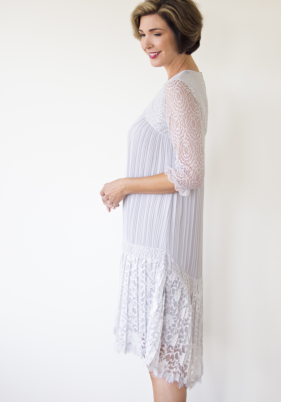 Paloma Dress - Gray