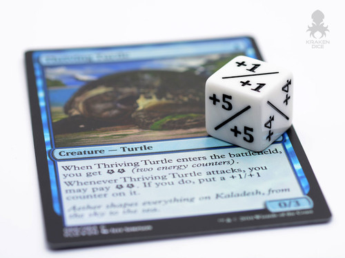 Positivenegative Dice Counters For Magic The Gathering 12 Pack