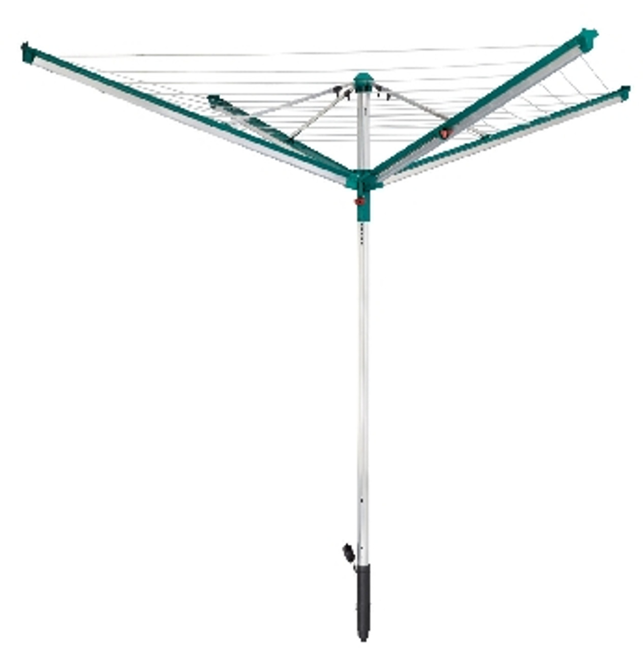 leifheit linomatic 500 deluxe outdoor rotary clothes airer. Black Bedroom Furniture Sets. Home Design Ideas