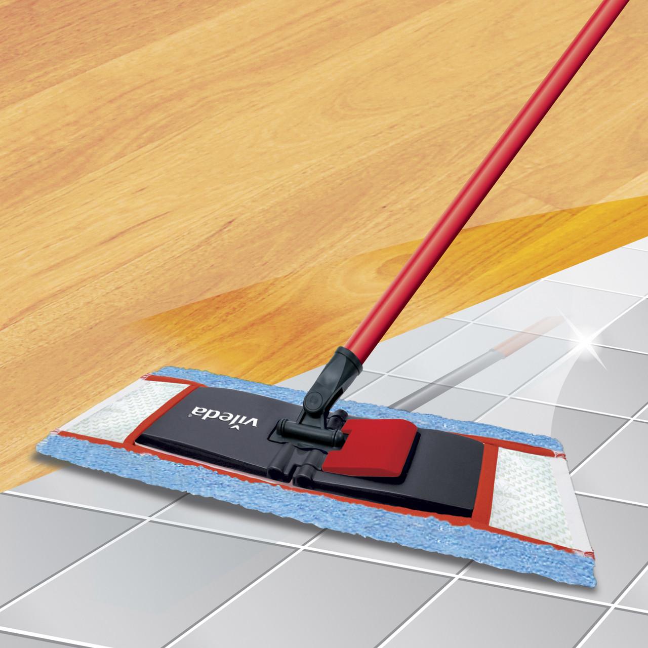 Vileda Activemax Wooden Floor Mop Laundry Company