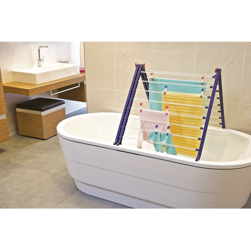 Leifheit Pegasus DUO Over Bath Clothes Airer