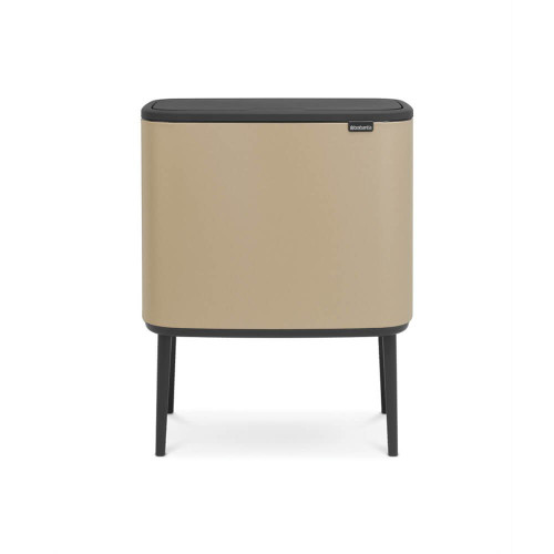 Bo Touch Bin With 1 Inner Bucket, 36 Litre - Golden Beach