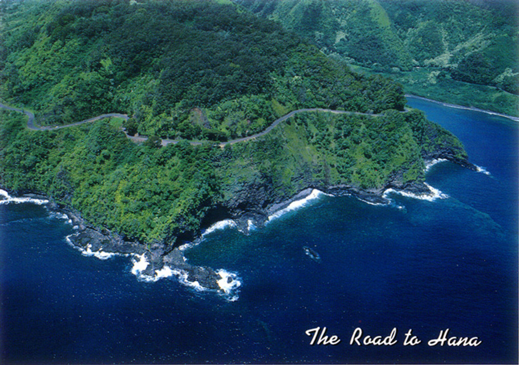 P333 - Road to Hana Postcard 50 Pack