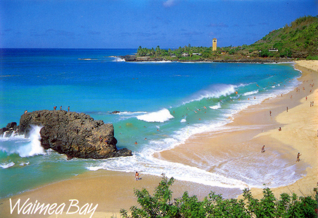 P229 - Waimea Bay Postcard 50 Pack