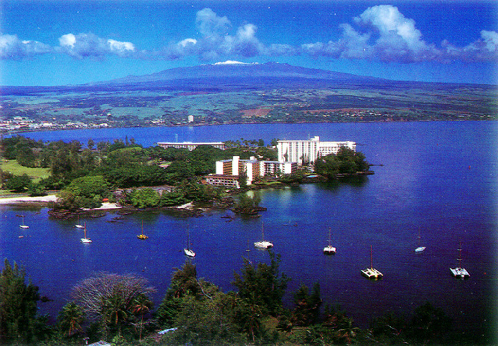 P465 - Tranquil Hilo Bay Postcard 50 Pack