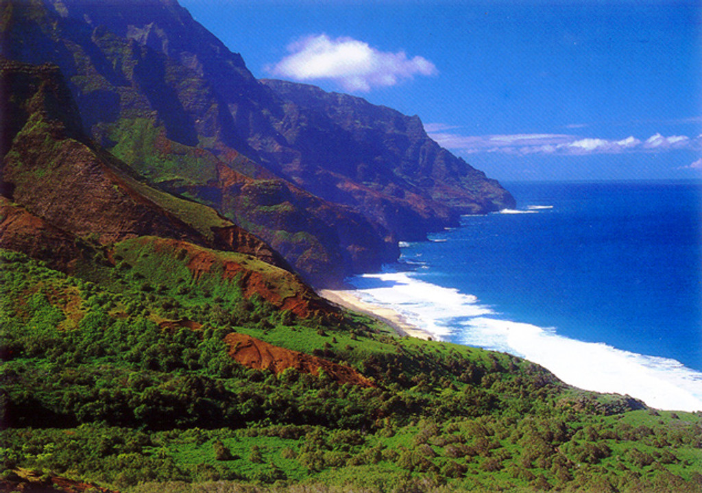 P535 - Kalalau Beach Postcard 50 Pack