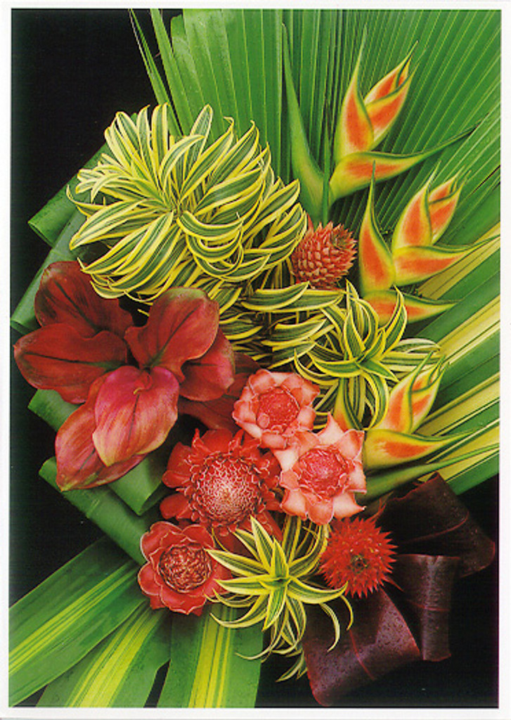 Tropical Arrangement - Notecard 6 Pack