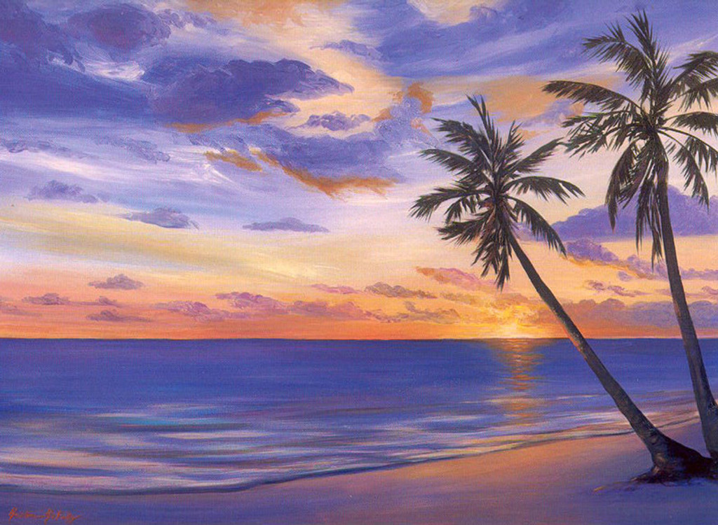 South Pacific Sunset - Notecard 6 Pack