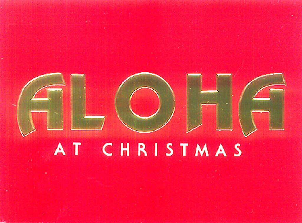 Christmas Cards - Coral Cards - CF1147 / Aloha At Christmas Assortment / 10 cards per box