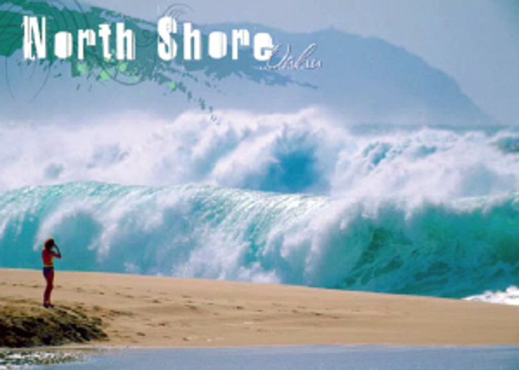 North Shore Oahu 5x7 Postcard 25 Pack