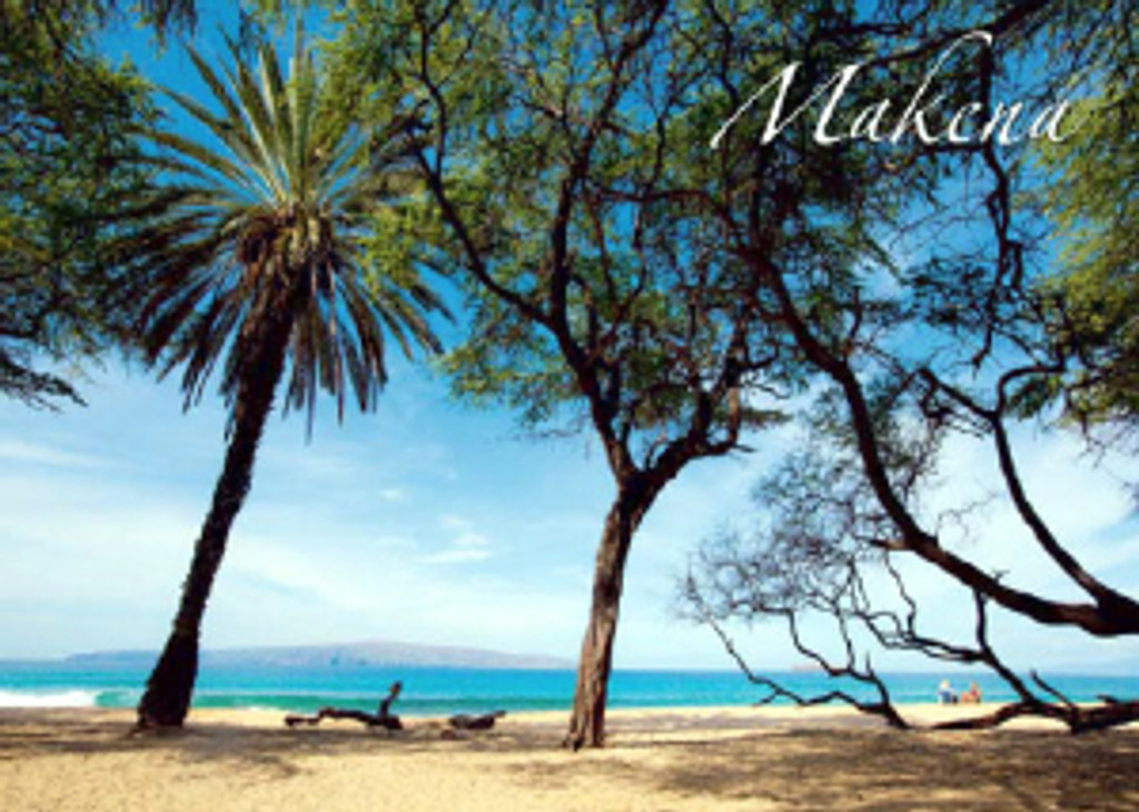 Makena Shoreline 5x7 Postcard 25 Pack