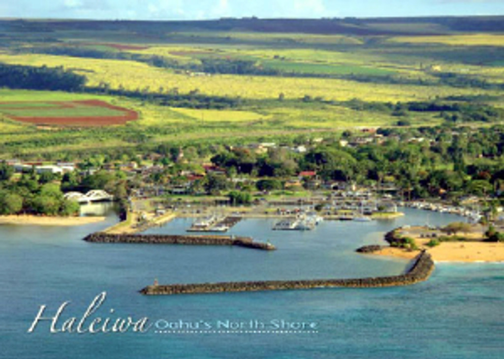 Haleiwa Harbor 5x7 Postcard 25 Pack