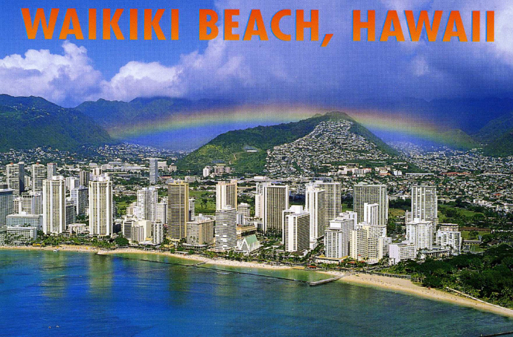 P715 - Rainbow Nuuanu Postcard 50 Pack
