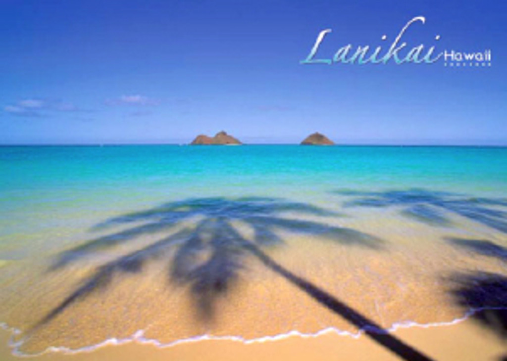 Lanikai Beach 5x7 Postcard 25 Pack