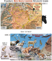 Red Rock Canyon WildLife Card