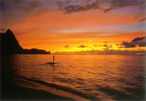 P020 - Hawn Sunset Postcard 50 Pack