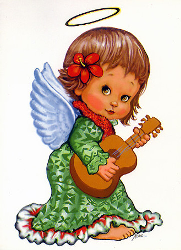 Christmas Cards - Coral Cards - CF1337 / Little Angel / 10 cards per box