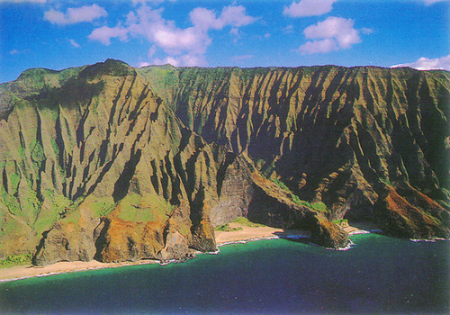 P555 - Napali Cliffs Postcard 50 Pack