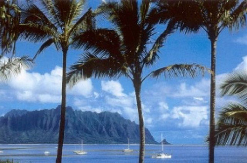 P063 - Kaneohe Bay Postcard 50 Pack