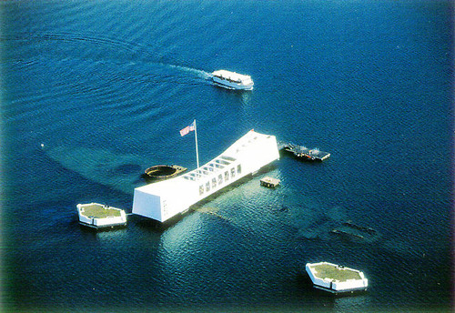 P057 - Arizona Memorial Postcard 50 Pack