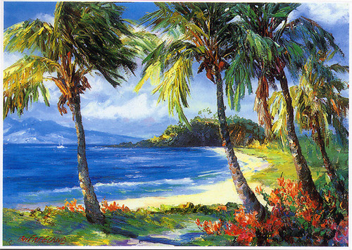Kaanapali Beach - Notecard 6 Pack