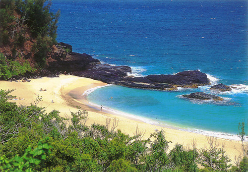 P561 - Lumahai Beach Postcard 50 Pack