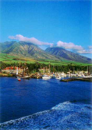 P306 - Lahaina Town Postcard 50 Pack