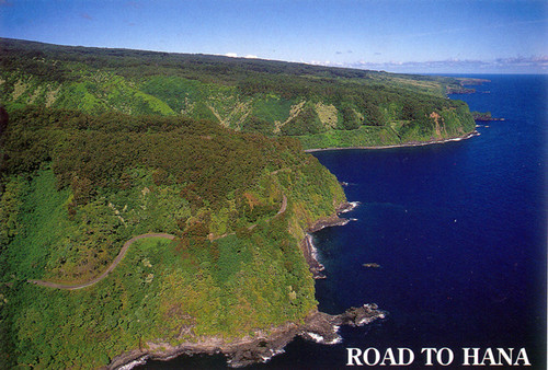 P363 - Road to Hana Postcard 50 Pack