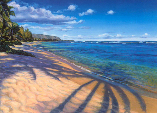 Waialua Beach Morning - Notecard 6 Pack