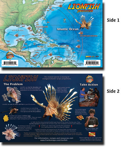 Lionfish Infestation Fish Card