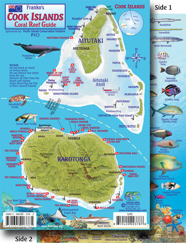 Cook Island Fish Card
