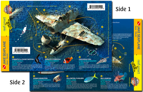 Jake Seaplane Wreck Palau Dive Card