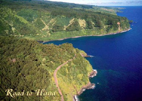 Road to Hana Aerial 5x7 Postcard 25 Pack