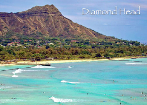 Diamond Head 5x7 Postcard 25 Pack