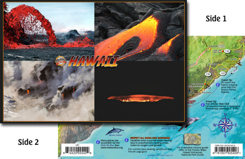 Hawaii Lava Card