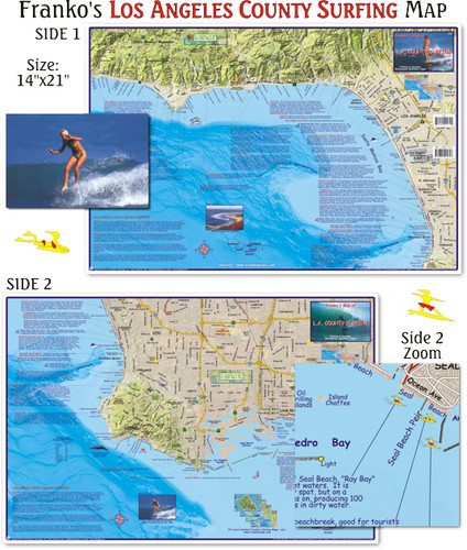 L.A. County Surfing (Folded)