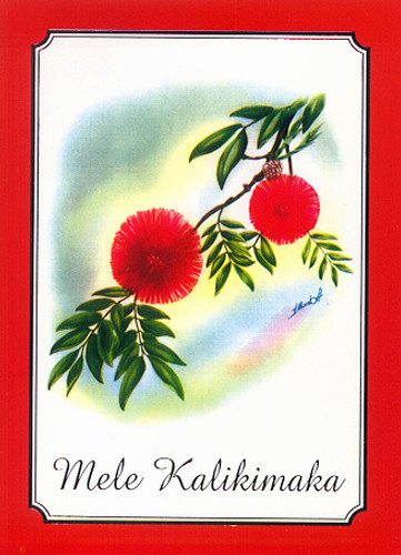 Christmas Cards - Coral Cards - CF1333 / Antique Ohia / 10 cards per box