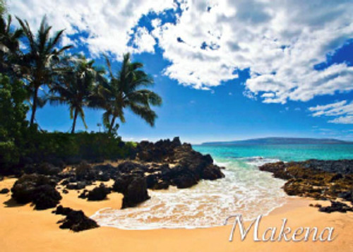 Makena Beach 5x7 Postcard 25 Pack