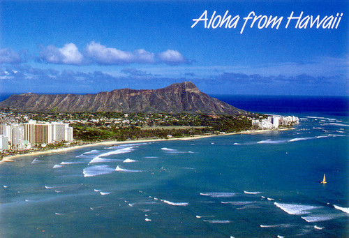 P221 - Diamond Head Postcard 50 Pack