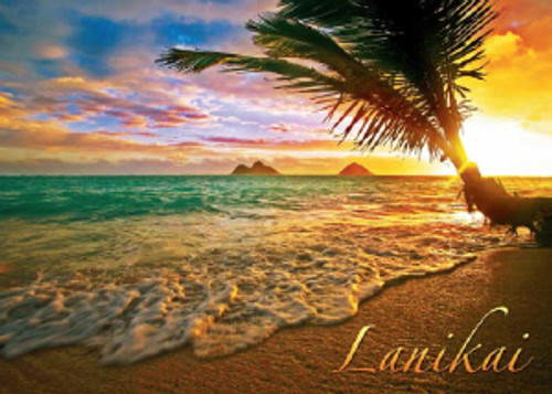 Lanikai Sunrise 5x7 Postcard 25 Pack