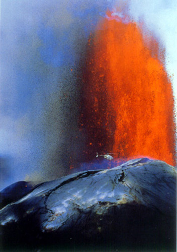P403 - Kilauea Eruption Postcard 50 Pack