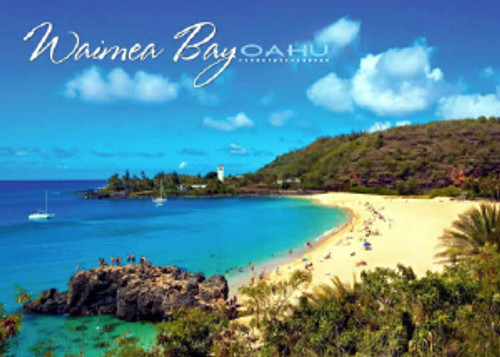 Waimea Bay 5x7 Postcard 25 Pack
