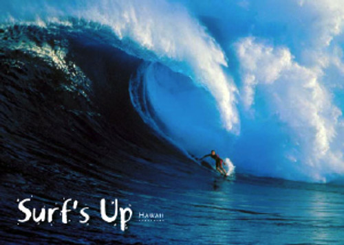 Surf's Up Hawaii 5x7 Postcard 25 Pack
