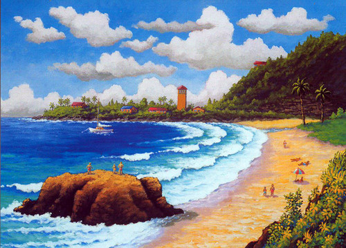 Waimea Bay - Notecard 6 Pack