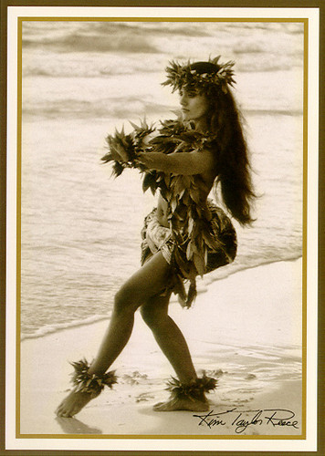 Female Dancer - Haunani - Kim Taylor Reece - Notecard 6 Pack