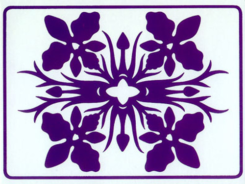 Quilt Purple Orchid - Boxed Notecards