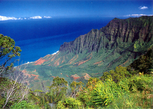 P511 - Kalalau Lookout Postcard 50 Pack